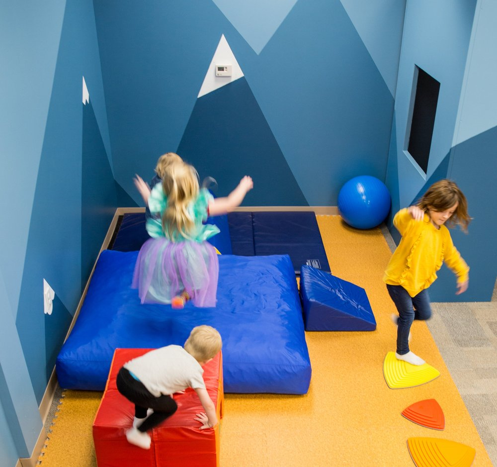 Big mountains for big action - Our padded play area allows your kids to practice all their moves in a soft space.