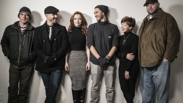 Sundance 2016: Ben Browder, JT Mollner, Francesca Eastwood, Chad Michael Murray, Francis Fisher and Keith Loneker.     Photo credit: Mark Mann