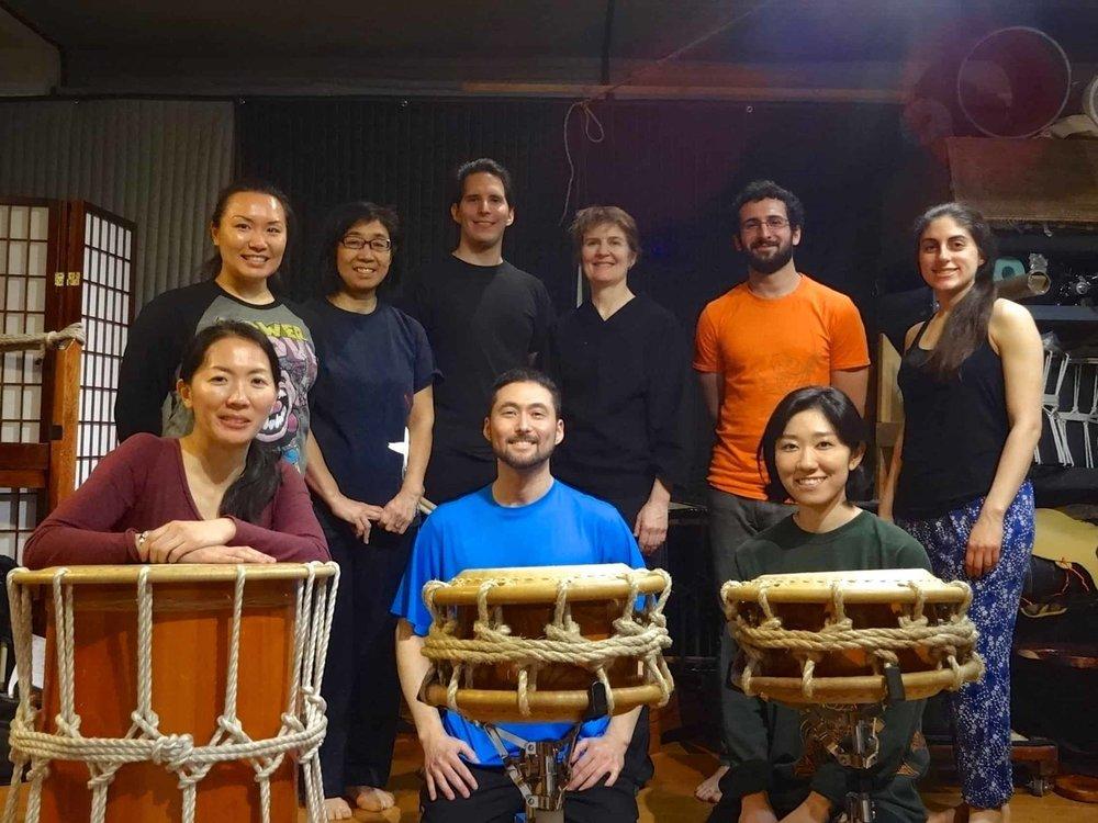 Eien Hunter Ishikawa Workshop Group Photo 2.jpg