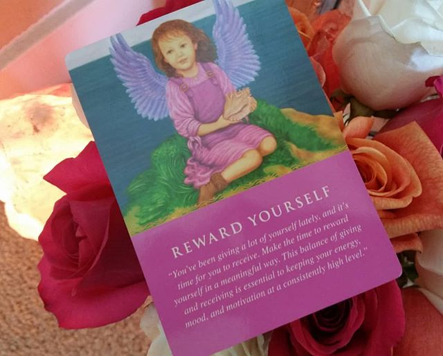 🎀🎀🎀 You may be reading this daily awakening message as a reminder to reward yourself today. This could be a small self care act like: taking a nap, getting flowers, painting your nails, or just taking a break. You have likely been working very hard and giving a lot of yourself, so why not take a moment and reward yourself? This can increase motivation and refill your tank. What kind of healthful self reward will you give yourself today?🎀🎀🎀 . . . #happyart #innerself #innervoice #innergrowth #innerlight #innerwork #innerwisdom #innerspace #innerjounrey #innerhealth #healingart #healingtime #healingpower #writerofig #writerofinstagram #writeronig #writeroninstagram #writerwrite #speakeroflife #healers #energyhealer #intuitivehealer #healersofinstagram #happyart #happyasaclam #happyactive #happyalone #happyascanbe