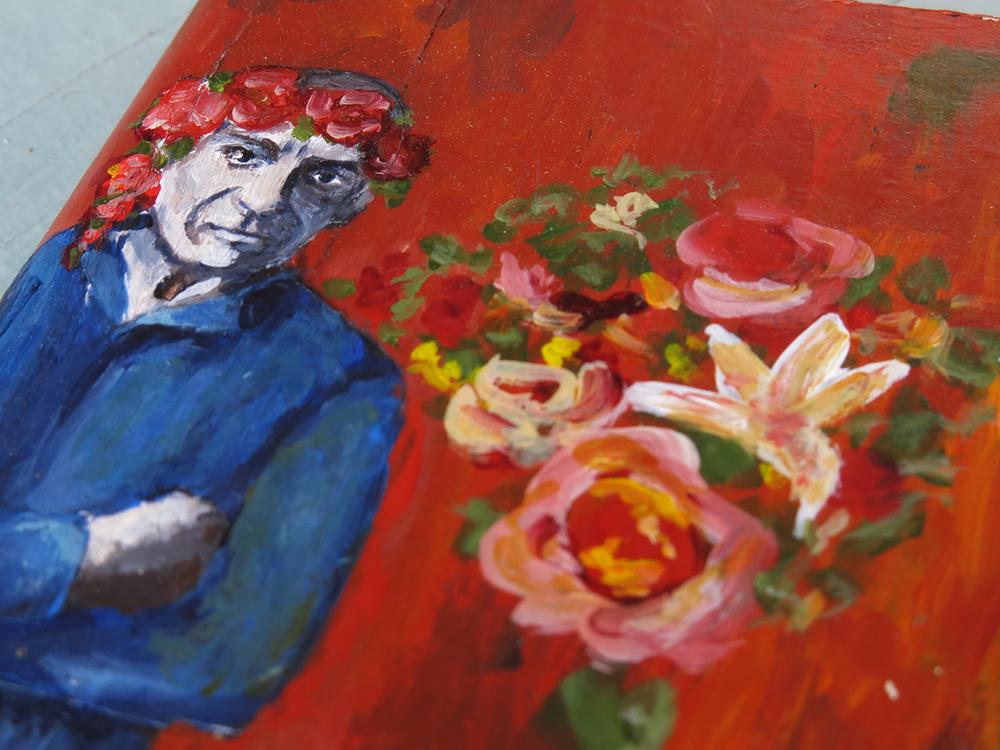 Picasso homage journal cover - Galia Alena