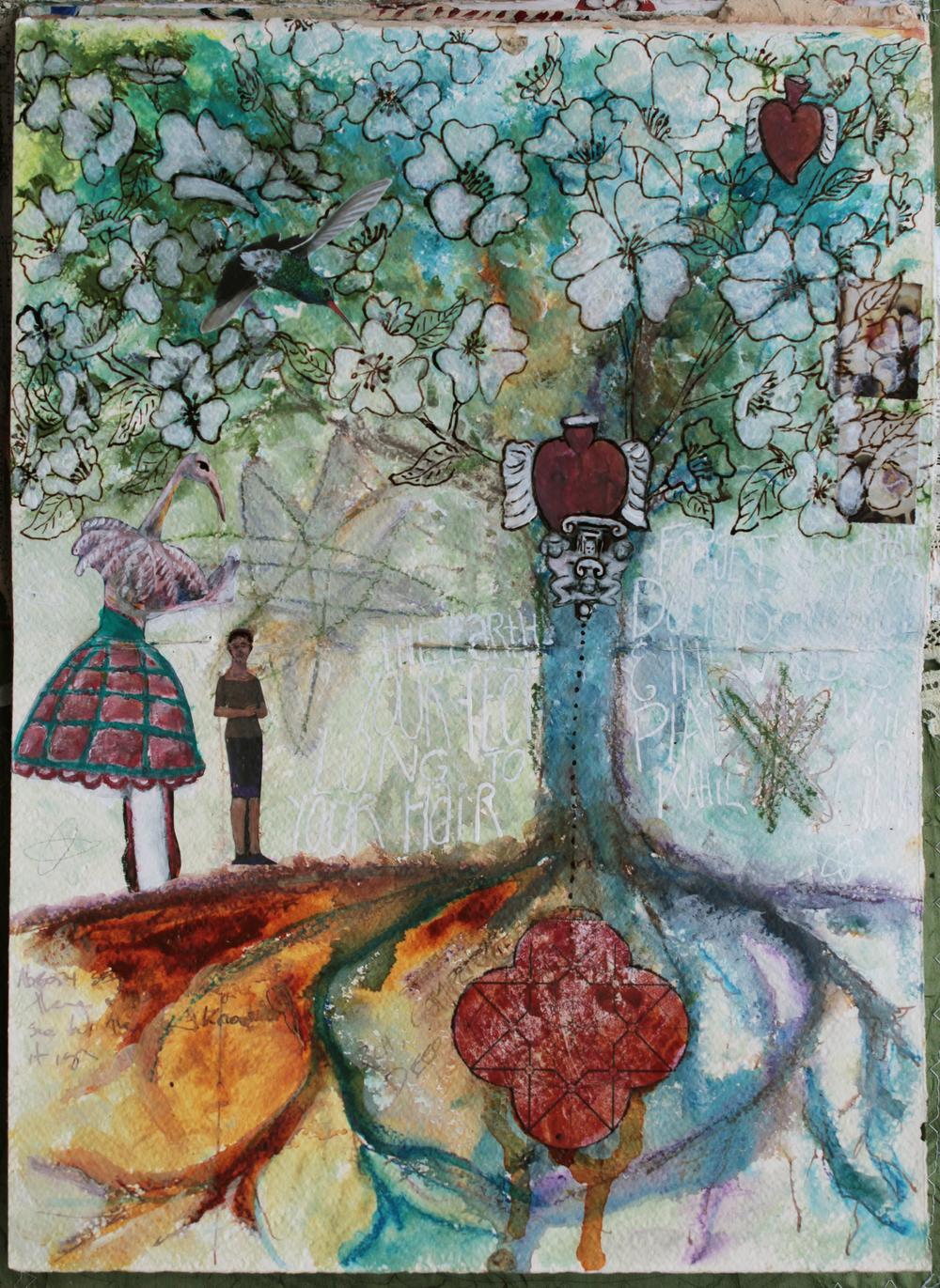 Tree spirits  - Galia Alena