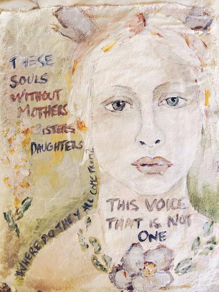 This Voice, visual journaling - Galia Alena
