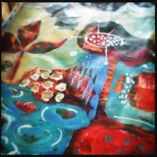 Art journal play - Galia Alena