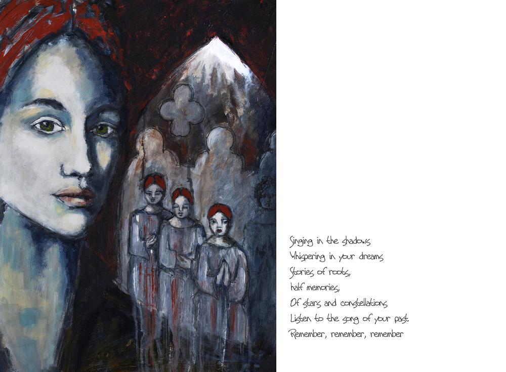 Ancestors Song - Galia Alena