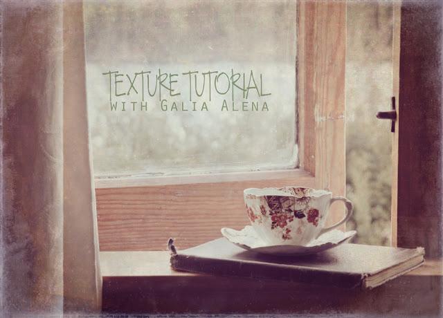 Galia Alena Photography, texture packs, texture photoshop tutorial