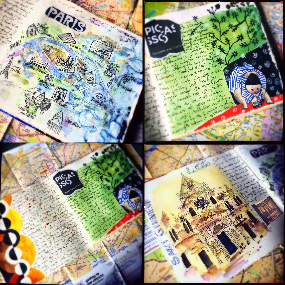 Galia Alena  Parisian travel journal