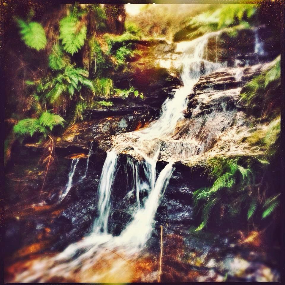 Galia Alena Leura Falls