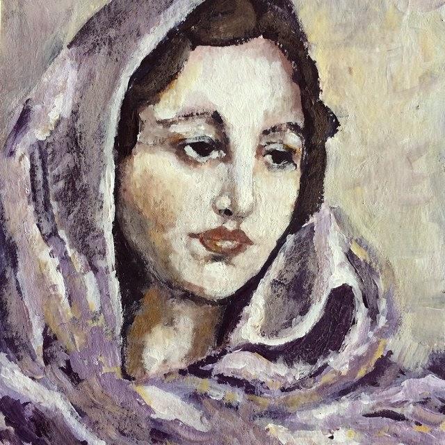 Anais NIn Painting Galia Alena