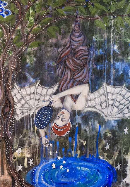 Galia Alena, tarot the One Who Hangs