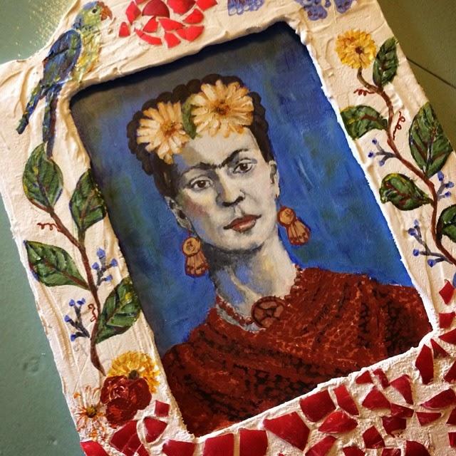 Frida Kahlo Painting Galia Alena
