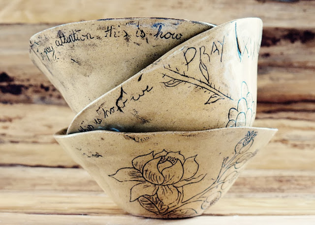 Galia Alena mixed media art and ceramics
