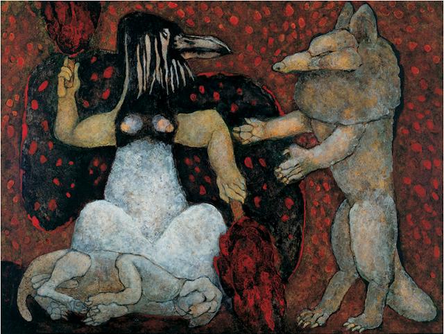 Death of a Dog Meinrad Craighead