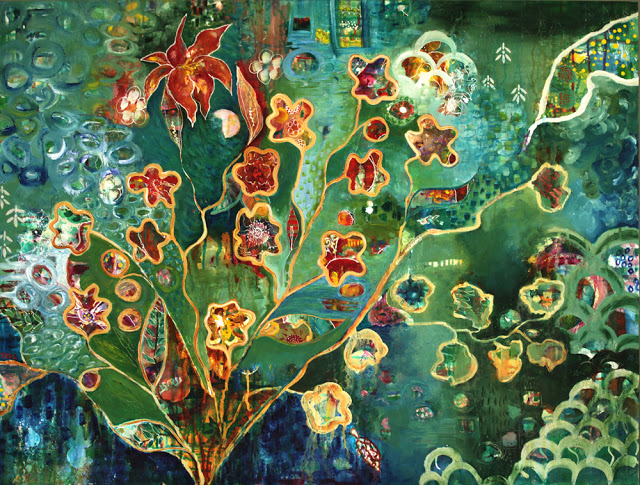 Flower Jewels, Ocean Deep, Galia Alena