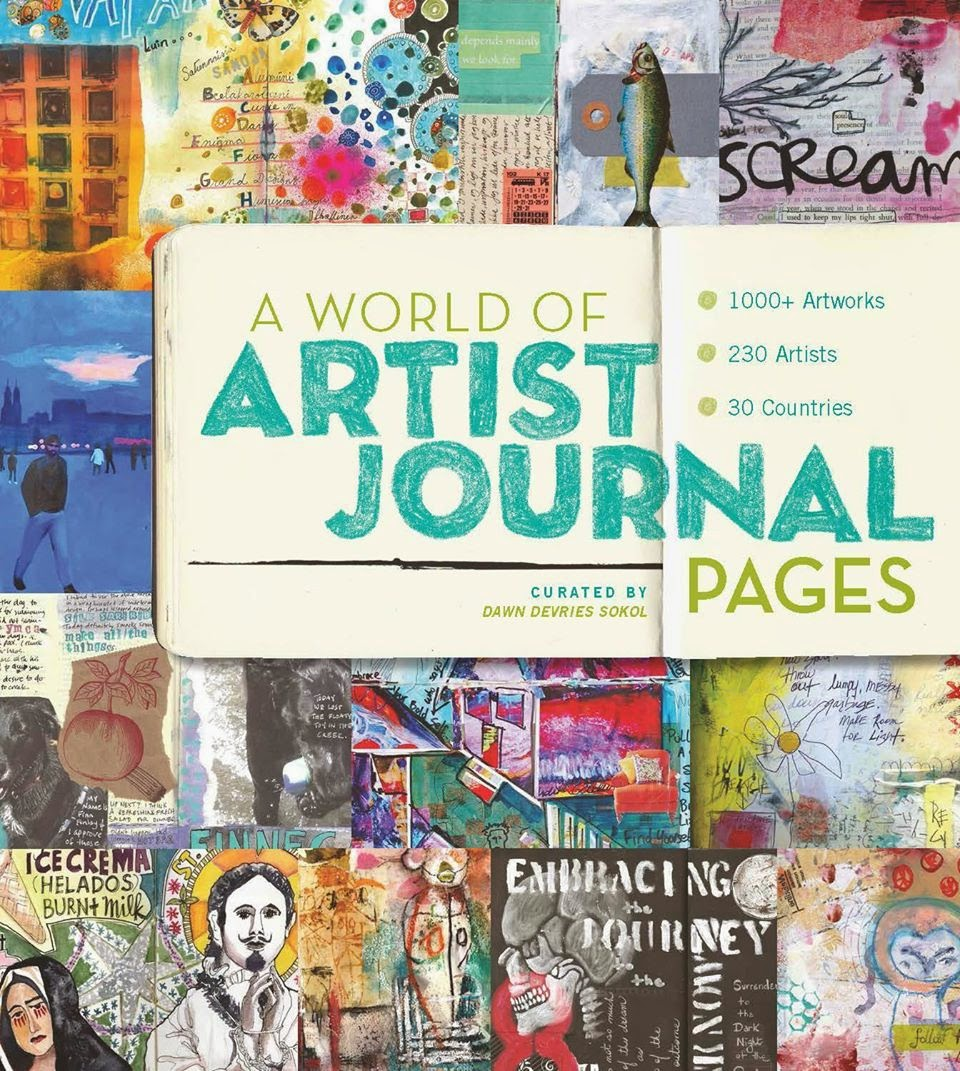 A World of Artist Journals Pages, Dawn DeVries Sokol