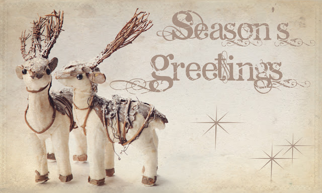 Season's Greetings, Christmas Raindeer, Galia Alena