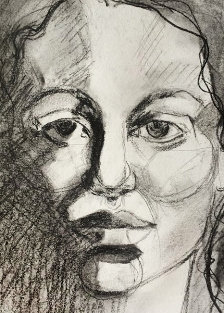 Sketch a day, Galia Alena, Drawn to Expression