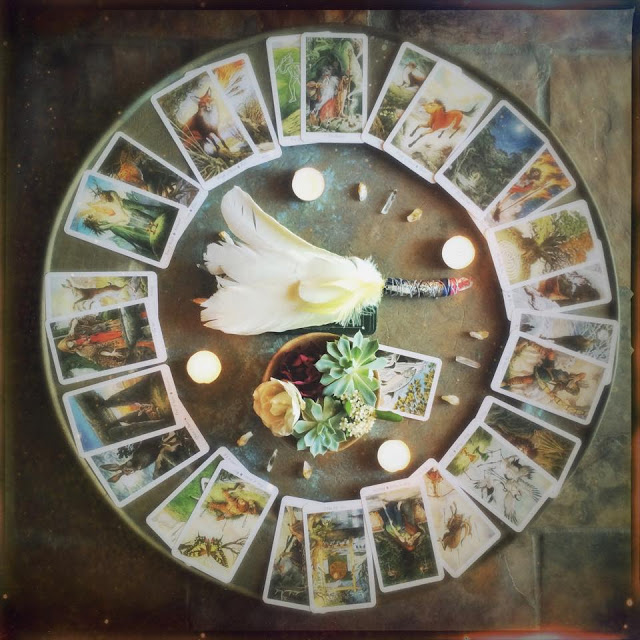 Galia Alena Medicine Wheel,  wheel of the year, 13 Moon Readings, tarot