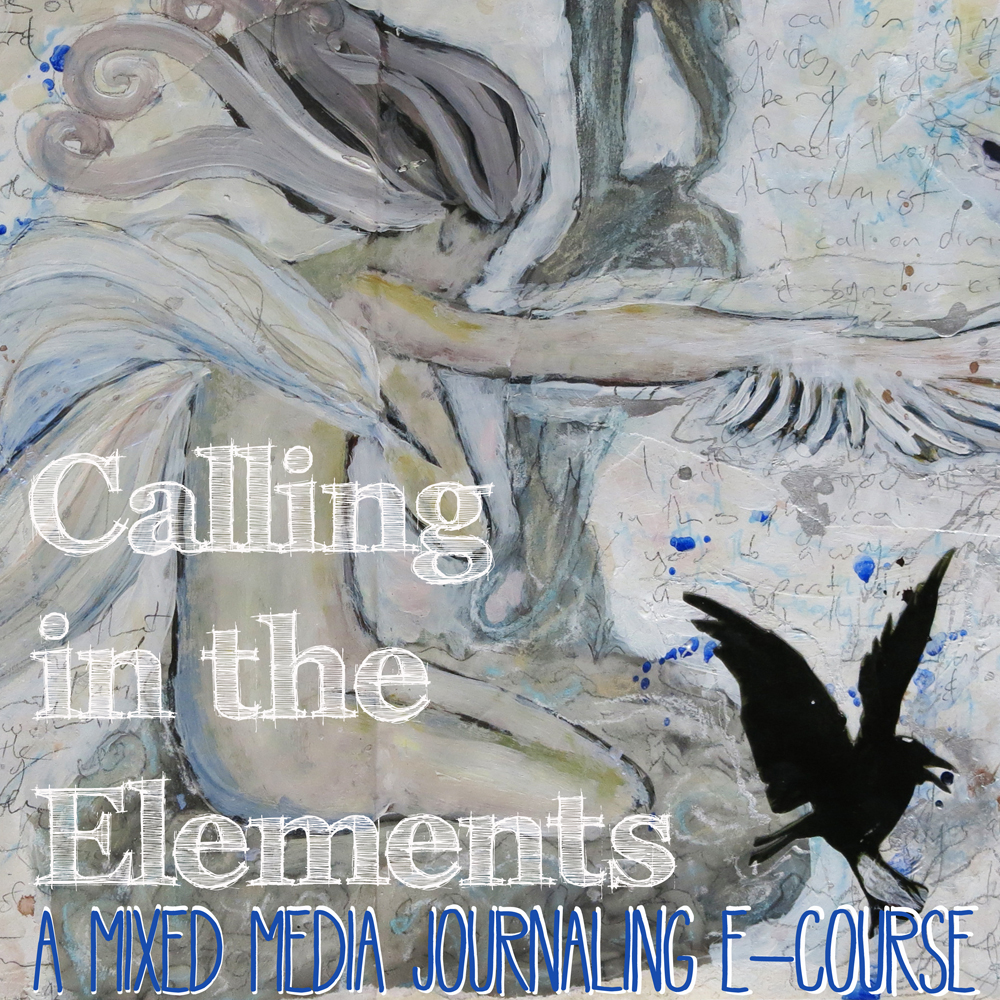 mixed media art journaling e-course