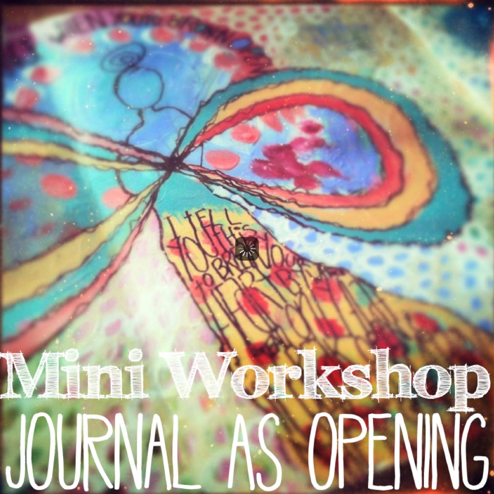 journal as opening art workshop