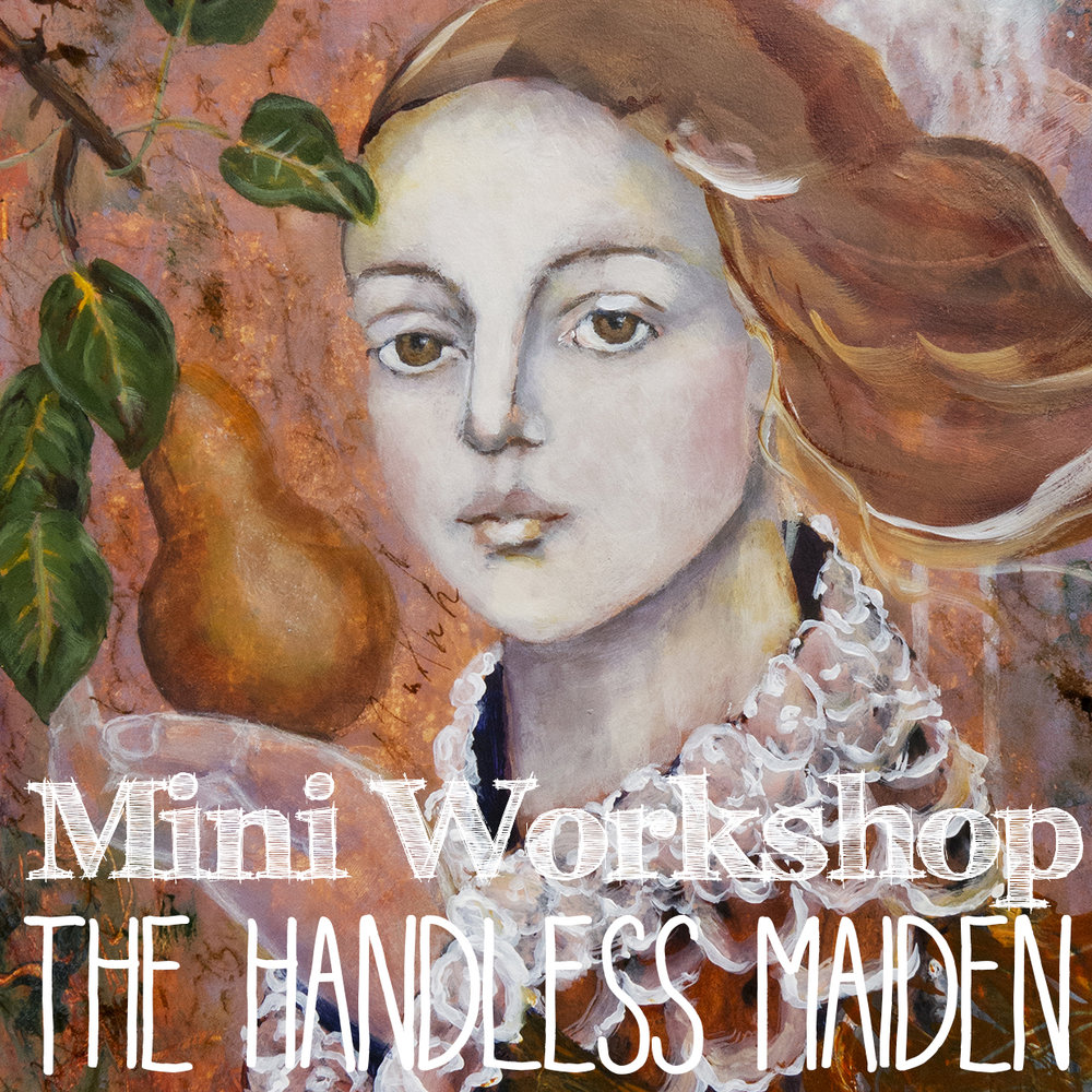 Handless Maiden painting workshop