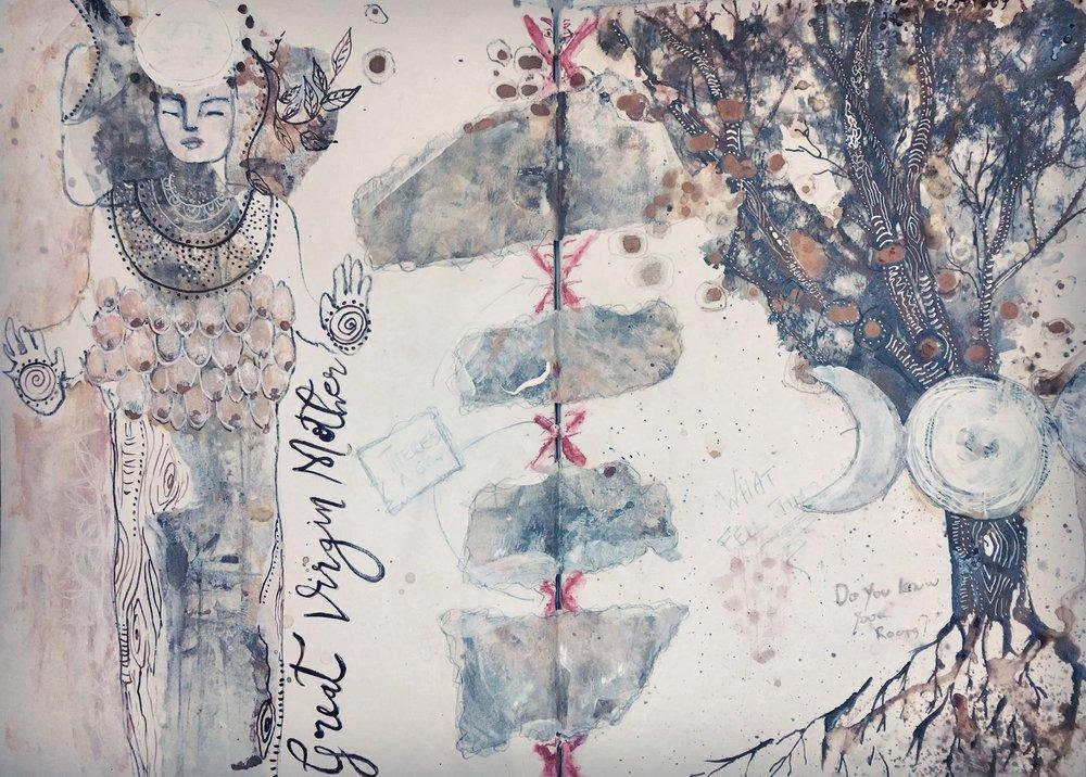 Artemis- Journal page