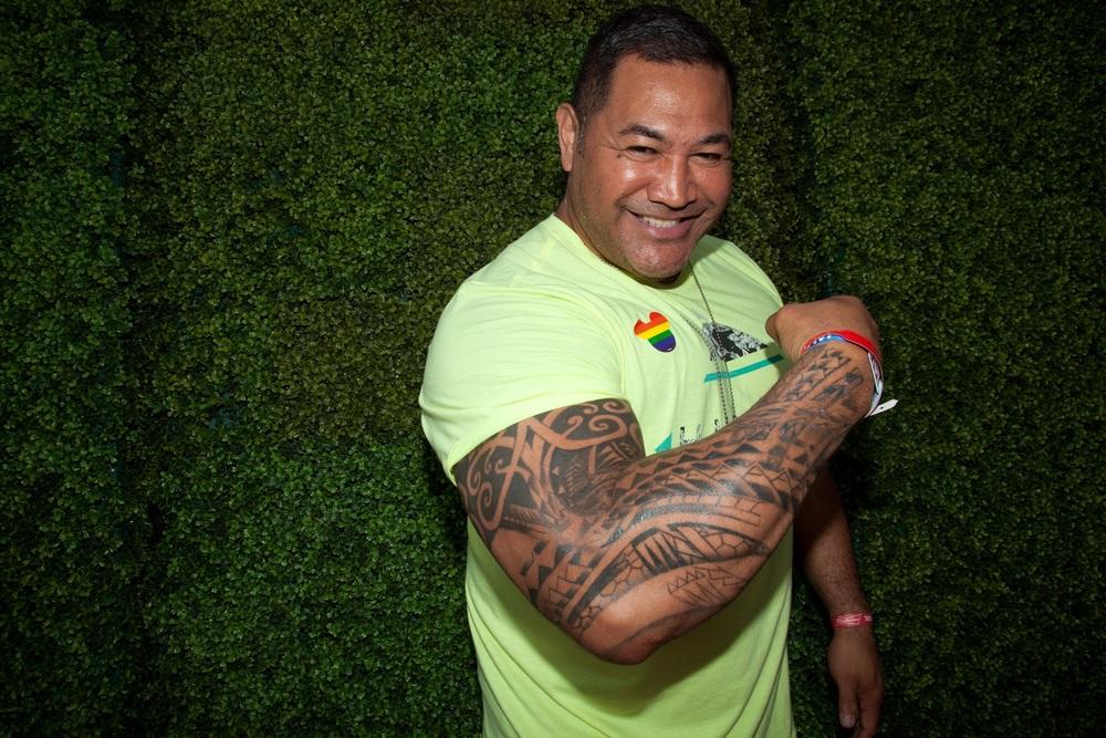 Former NFL player Esera Tuaolo