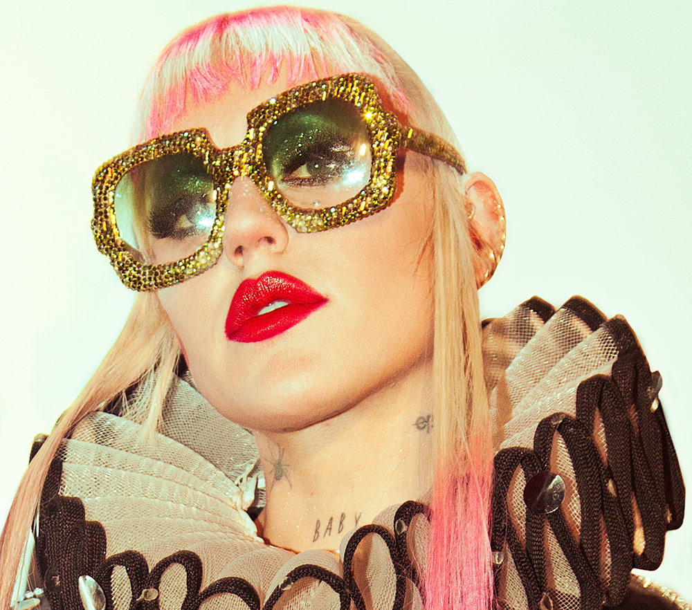 Portrait of musician Brooke Candy best reportage documentary fashion photographers