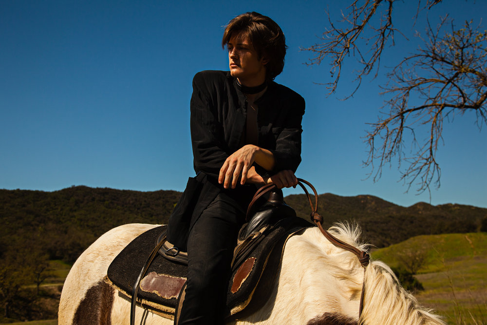 Fashion Photo Shoot, Sam Evans & Allie Holton, Rogue Magazine Editorial, Horses, best Los Angeles Photography