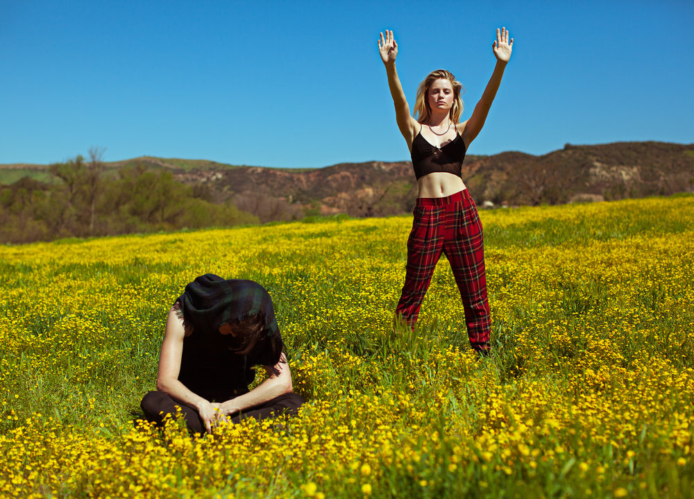 Fashion Photo Shoot, Sam Evans & Allie Holton, Rogue Magazine Editorial, best Los Angeles Photography
