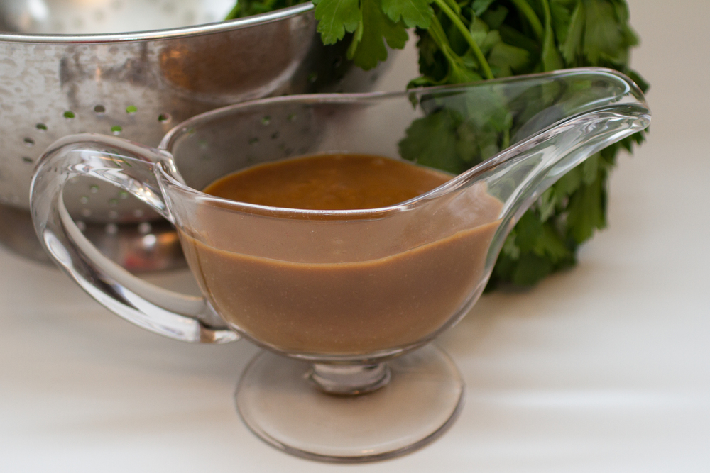Pan Gravy made with Cafe' Luxe stainless steel made with Cafe' Luxe best milk frother and foam maker