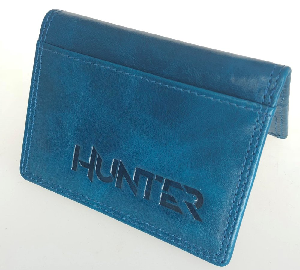 Petrol Blue Hunter Wallet