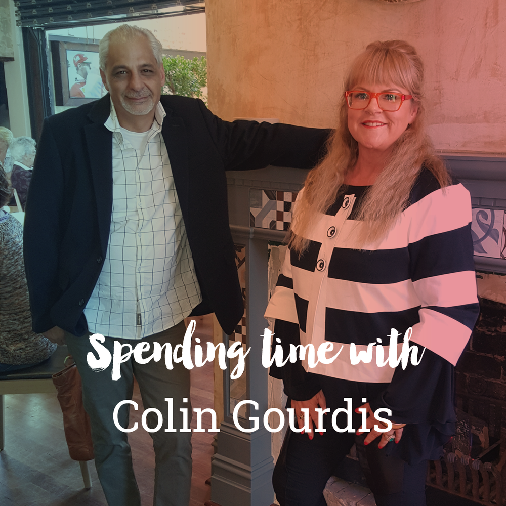 Spending time with Colin Gourdis