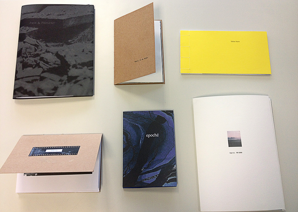 Photobooks for The Library Project - Photobooks and Artist books made during workshops with students of Photography, Film & Video, and Painting, during Spring (2018) at Limerick School of Art & Design. A selection of this work will be shown at The Library Project, Dublin in March, through the support of PhotoIreland.