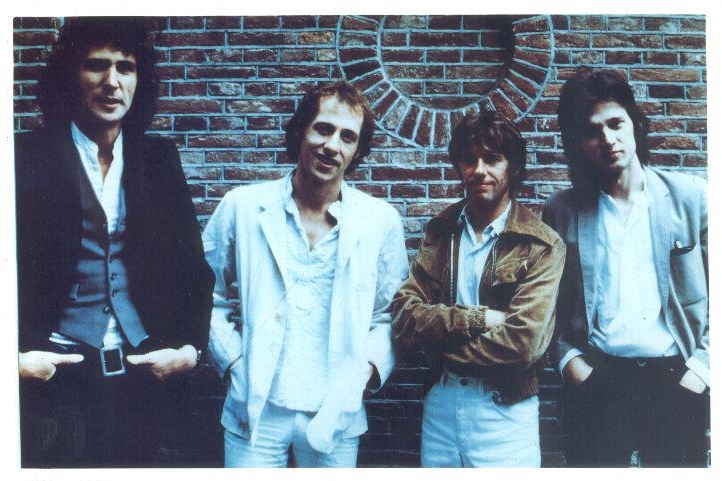 With Dire Straits in the early days. 1978.