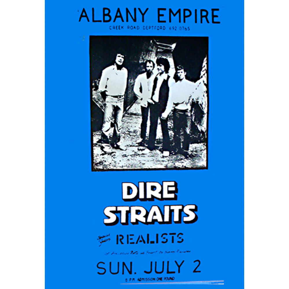 Image result for dire straits albany 1978