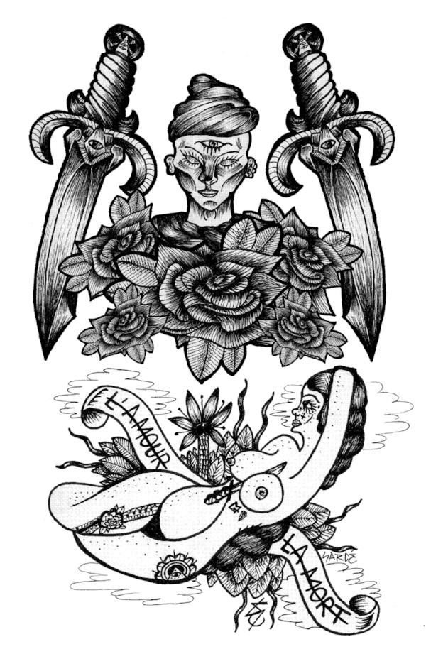 Sarcé's drawing