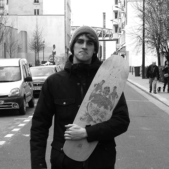 César and his board