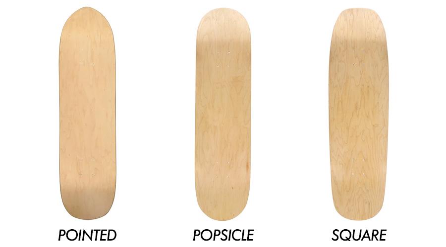 skateboard shape