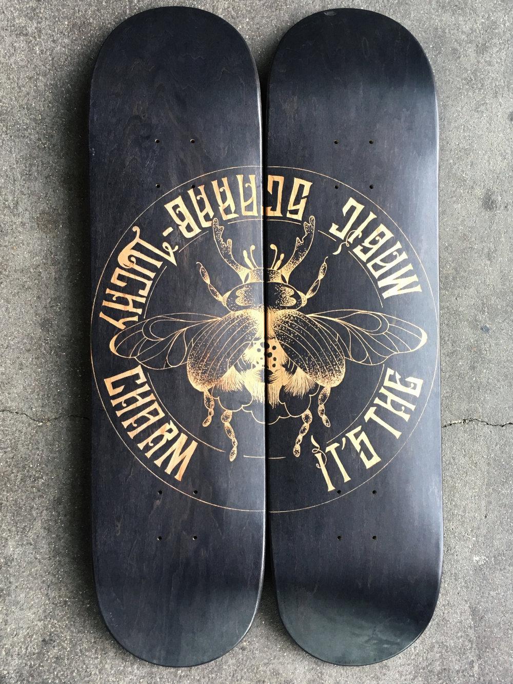 skateboard personnalisé héléna
