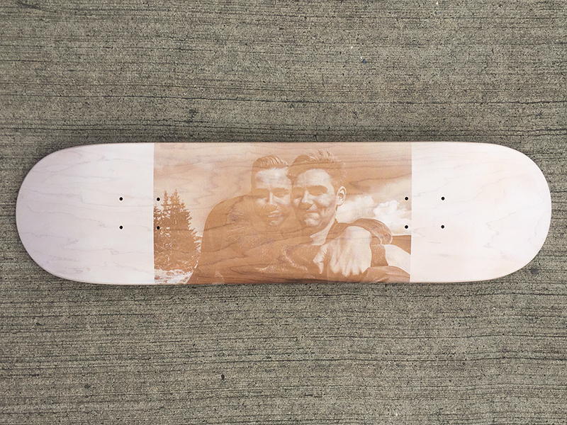 customisation skateboard photo
