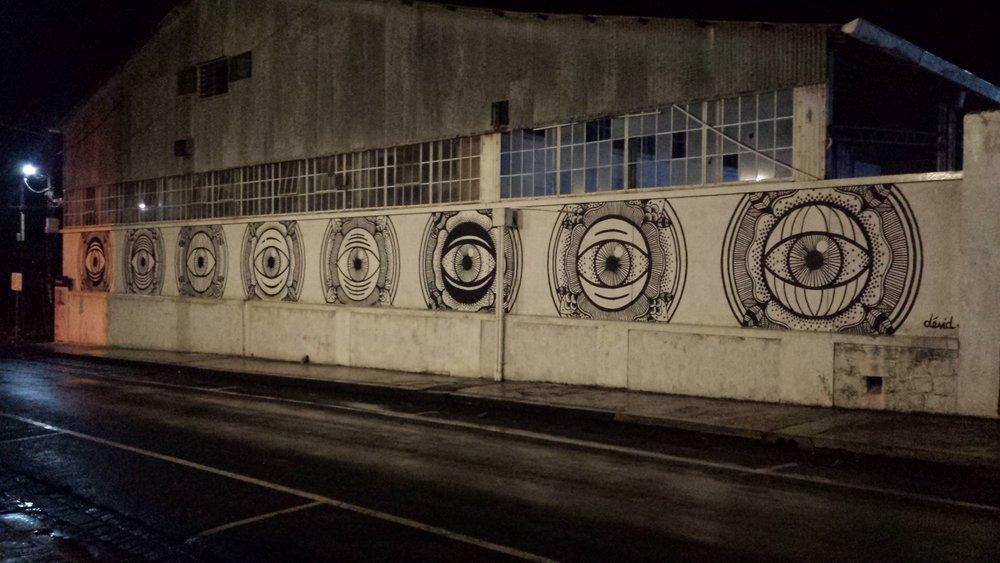 Street art by Dévid