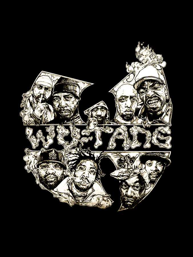 wu tang illustration