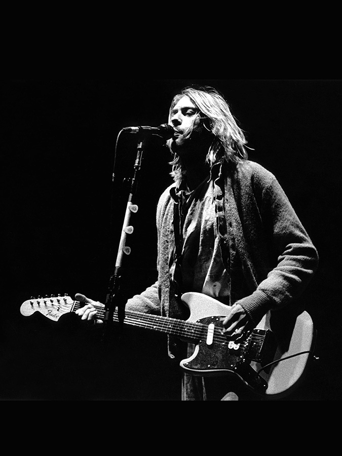 kurt cobain photo