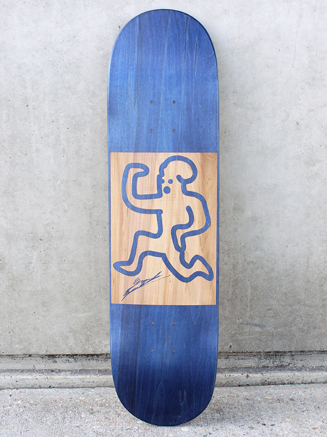 skateboard personnalisé Guillaume Grando