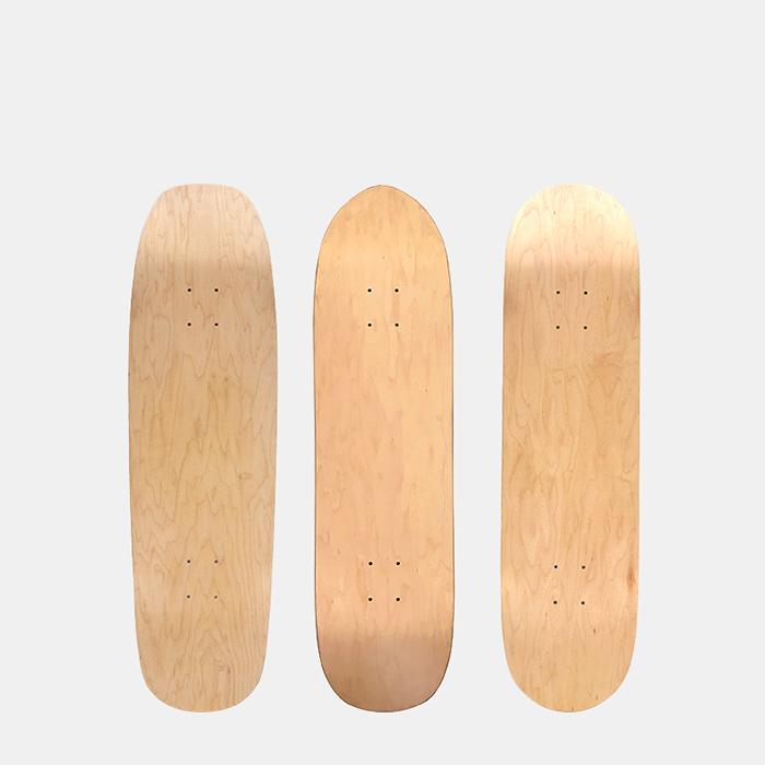 skateboard and cruiser