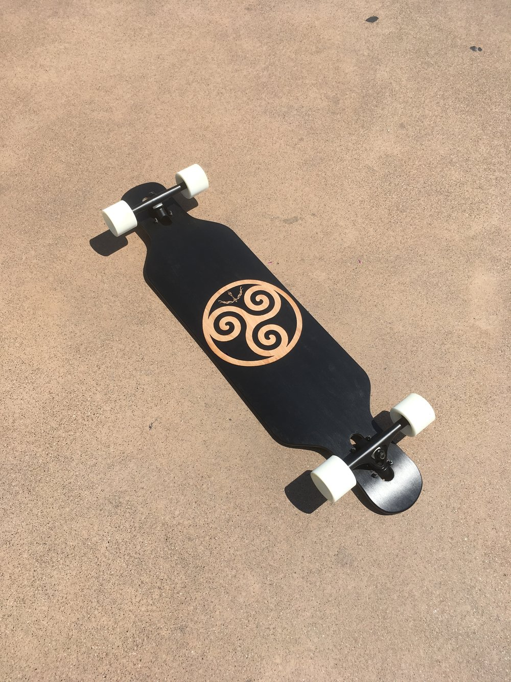 Longboard custom complete