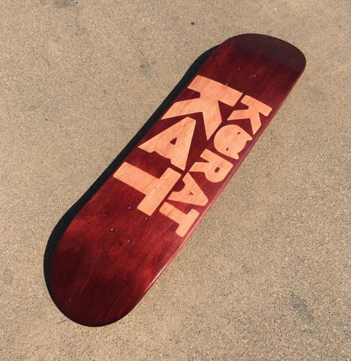 Skate custom Federica