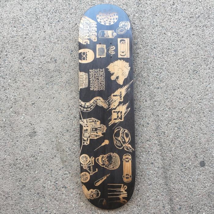 Skate custom Stuart