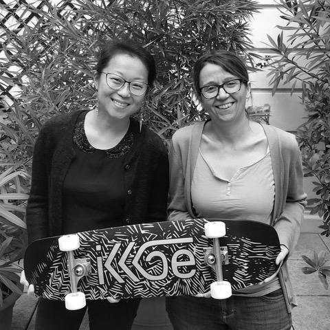 Skateboard personnalisé Ikkoe